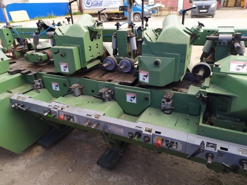 For sale: Weinig Unimat 23 four-sided cutter, manufactured in 1993